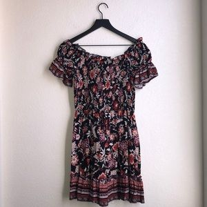 Band Of Gypsies Floral Dress Size S